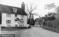 Ditchling, East End Lane c.1955