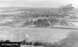 Ditchling, From The Downs c.1955