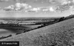 Ditchling, From The Downs c.1960