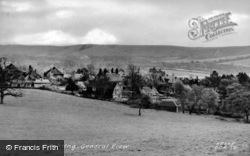 Ditchling, General View c.1955