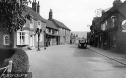 Ditchling, High Street Looking South c.1955
