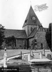 Ditchling, St Margaret's Church c.1955