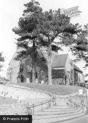 Ditchling, St Margaret's Church c.1965