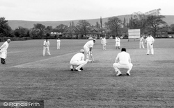 Ditchling, The Cricket Field c.1960