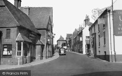 Ditchling, Town Centre c.1950