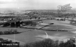Ditchling, View From The Beacon c.1955