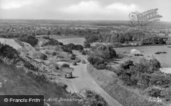 Ditchling, View From The Hill c.1955