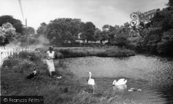 Ditchling, Village Pond c.1960