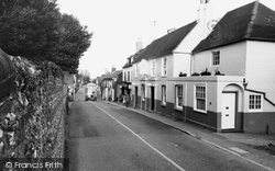 Ditchling, West Street c.1960
