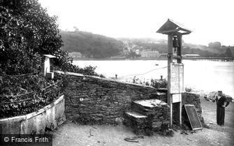 Dittisham, Greenway Ferry, River Dart 1924