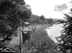 Salmon Nets, River Dart 1923, Dittisham