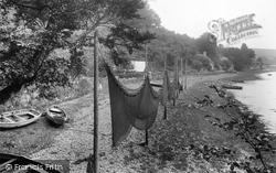 Salmon Nets, River Dart 1924, Dittisham