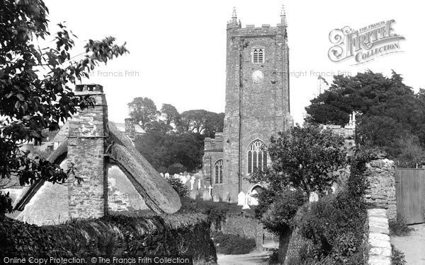 Photo of Dittisham, Church 1925, ref. 78382