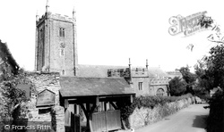 St George's Church c.1965, Dittisham