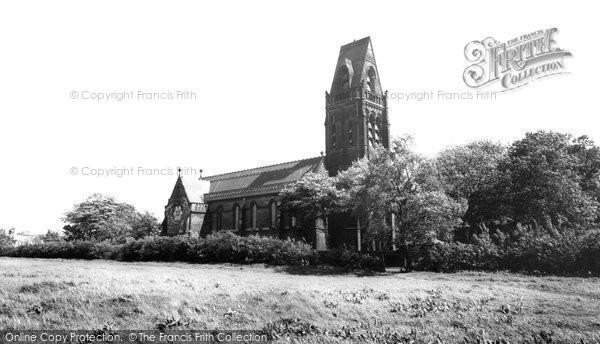 Photo of Ditton, St Michael's Church, Ditton Hall c.1965