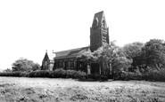 Ditton, St Michael's Church, Ditton Hall c1965