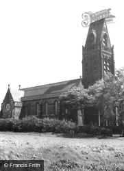 St Michael's Church, Ditton Hall c.1965, Ditton