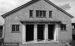 Memorial Hall c.1965, Dobwalls