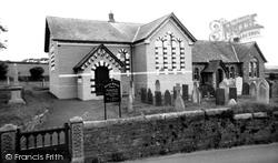 Methodist Church c.1965, Dobwalls