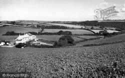 View Towards Liskeard c.1965, Dobwalls