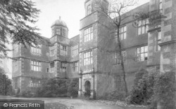 Doddington, Doddington Hall 1906