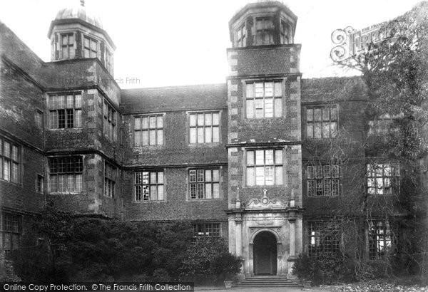 Photo of Doddington, Hall 1906