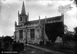 Doddington, St Peter's Church 1906