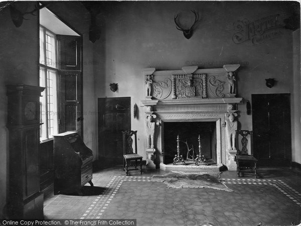 Photo Of Dodington Hall Old Fireplace 1929 Francis Frith
