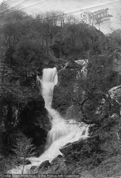 Photo of Dolgarrog, The Cascade c.1885