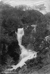 The Cascade c.1885, Dolgarrog