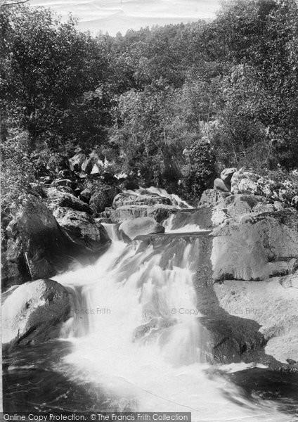 Photo of Dolgarrog, The Falls 1892