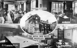 Dolgellau, Composite, The Royal Ship Hotel c.1936
