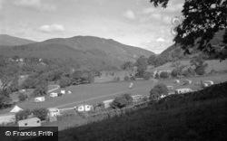 Dolgellau, Cymmer Abbey And Vanner Farm 1955