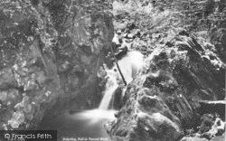 Dolgellau, Falls In Torrent Walk c.1890