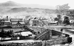 Dolgellau, From The Station 1888