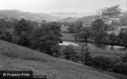 Dolgellau, General View 1952
