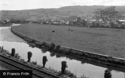Dolgellau, General View 1955