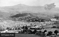 Dolgellau, General View c.1875