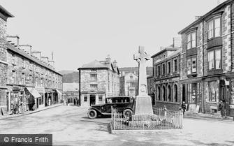 Dolgellau, Market Square 1930