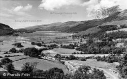 Dolgellau, Mawddach Estuary And Vanner Farm c.1965