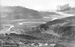 Dolgellau, Mawddach Estuary, The Precipice Walk c.1890