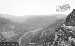 Dolgellau, Precipice Walk 1894