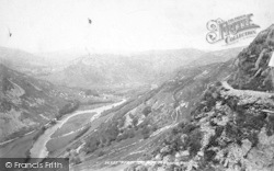 Dolgellau, Precipice Walk 1895