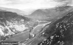 Dolgellau, Precipice Walk, Caullwyd Valley 1888