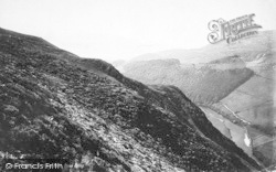 Dolgellau, Precipice Walk Down The Valley 1888