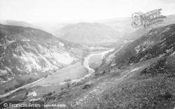 Dolgellau, Precipice Walk Up The Valley 1888