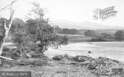 Dolgellau, River Mawddach 1895