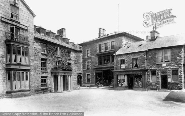 Photo of Dolgellau, Royal Ship Hotel And Post Office 1908