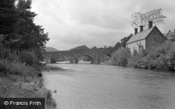 Dolgellau, The Bridge 1953