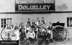 Dolgellau, The Merioneth Carriage Works c.1900